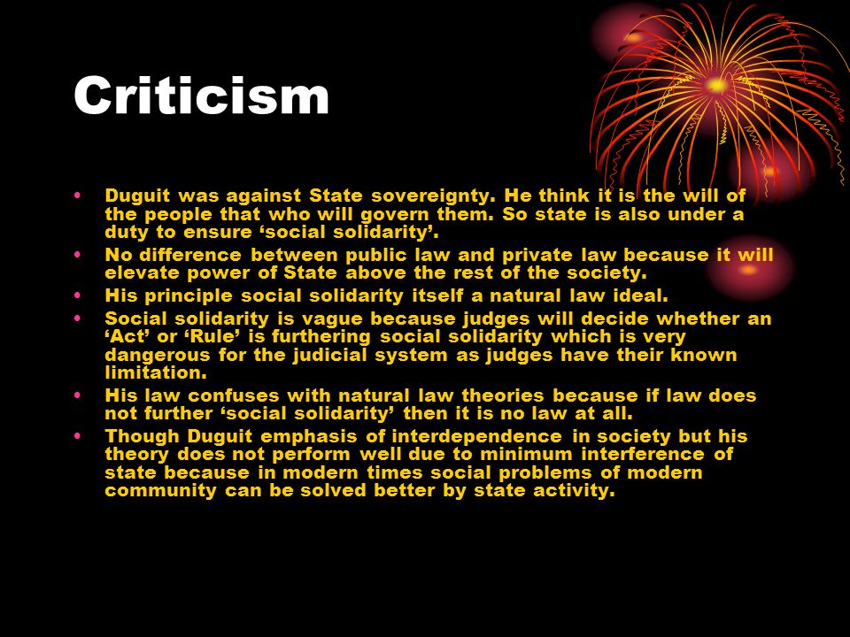 criticism of sociological school of jurisprudence