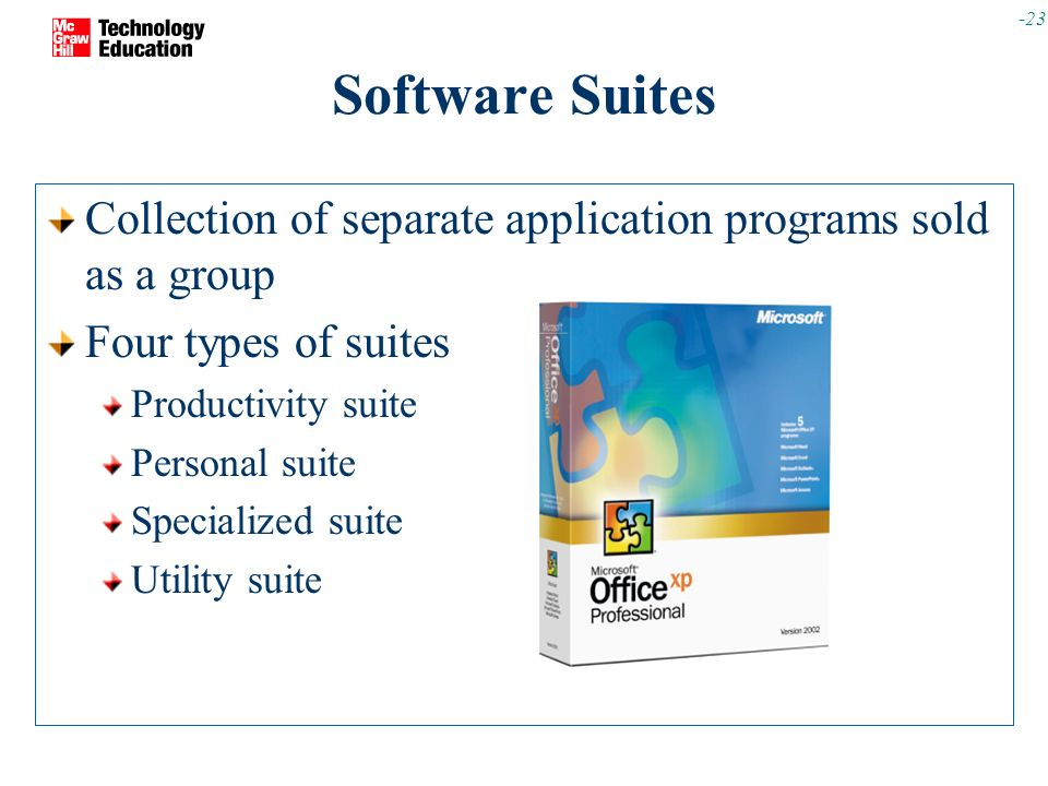 General-Purpose APPLICATION SOFTWARE - ppt download