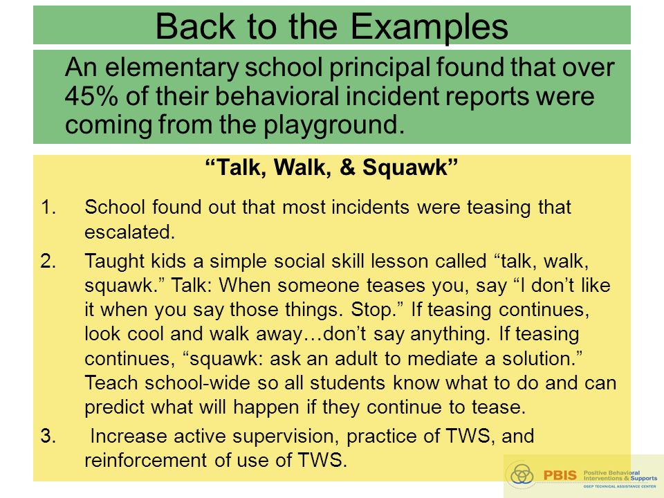 School Wide Positive Behavioral Interventions And Supports SW PBIS
