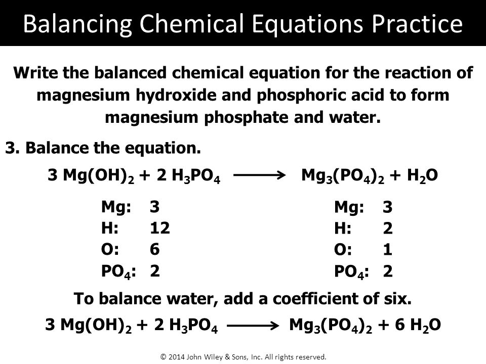 8 chemical equations flames and sparks result when