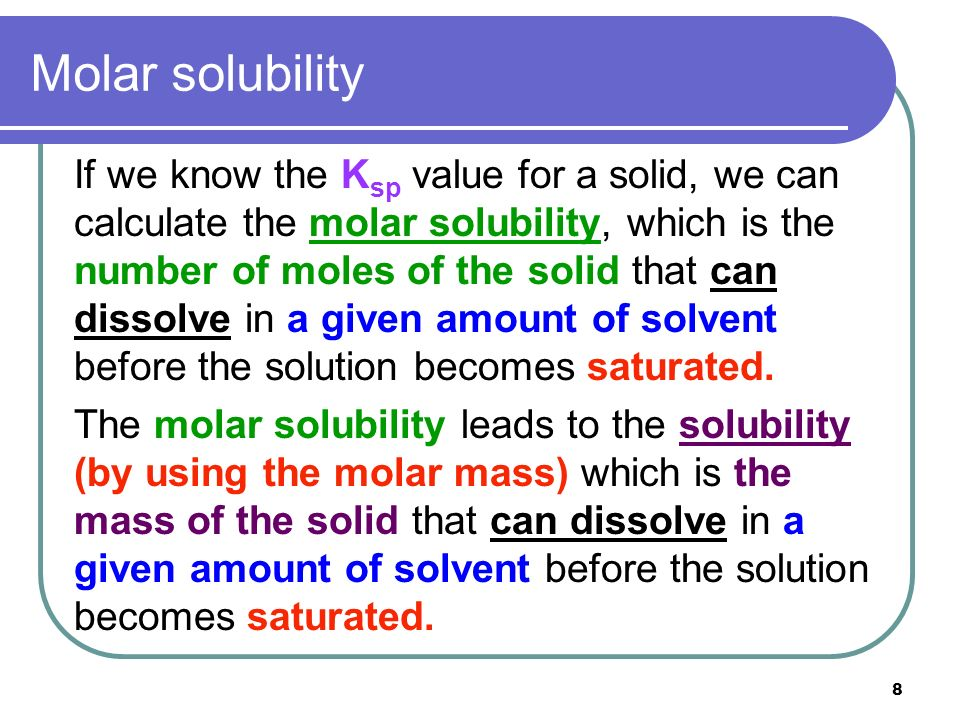 Chapter 18 Solubility and Complex-Ion Equilibria - ppt video