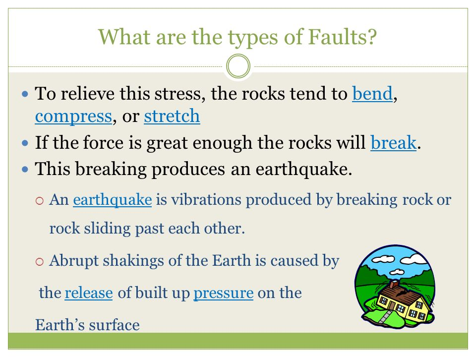 What are the types of Faults