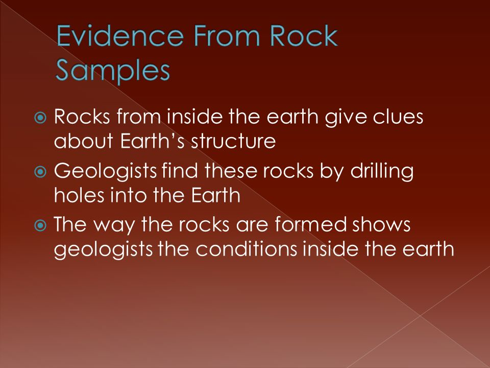 Evidence From Rock Samples