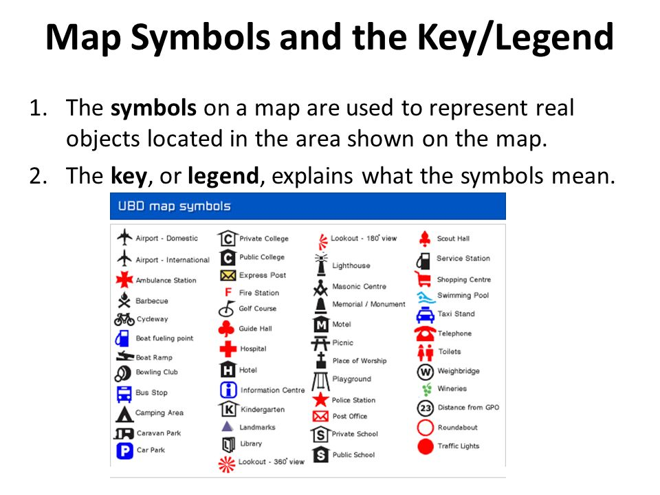 Geography map symbols gallery meaning of text symbols map skills maps are a representation of the earth or a region of the gumiabroncs Images