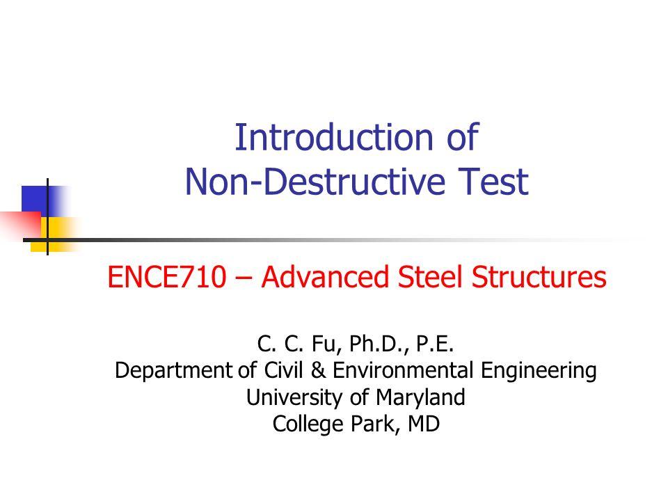 Introduction Of Non Destructive Test Ppt Download
