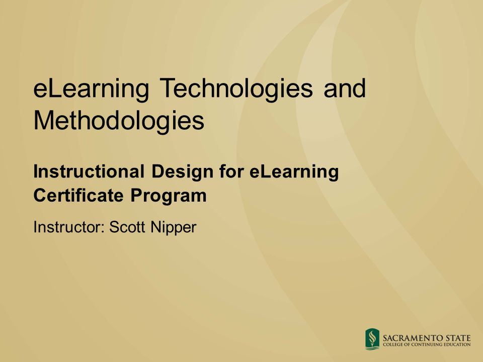 Elearning Technologies And Methodologies Ppt Download