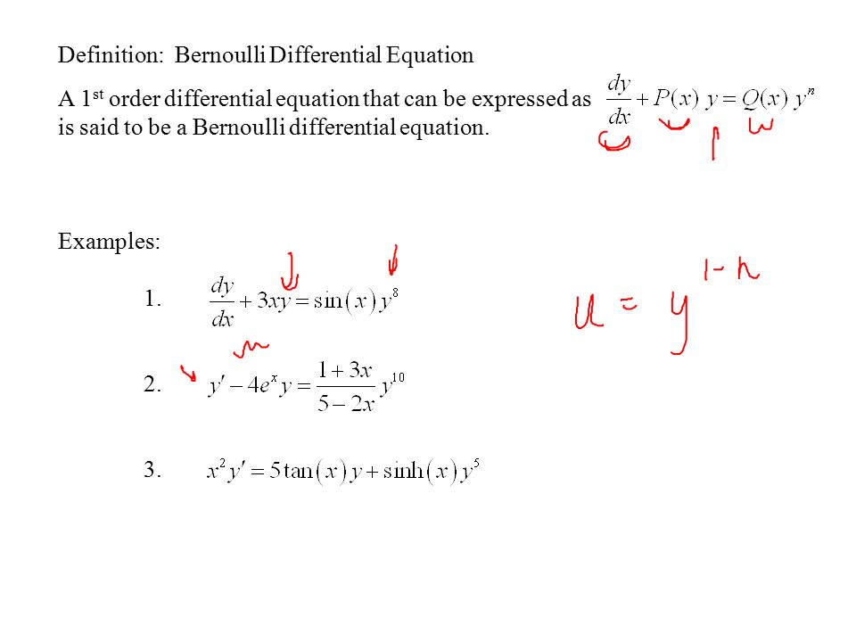 Section 11 Differential Equations Mathematical Models Ppt Video