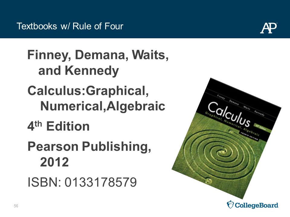 Textbooks fast track to a 5 preparing for the ap calculus ab and textbooks w rule of four fandeluxe Gallery
