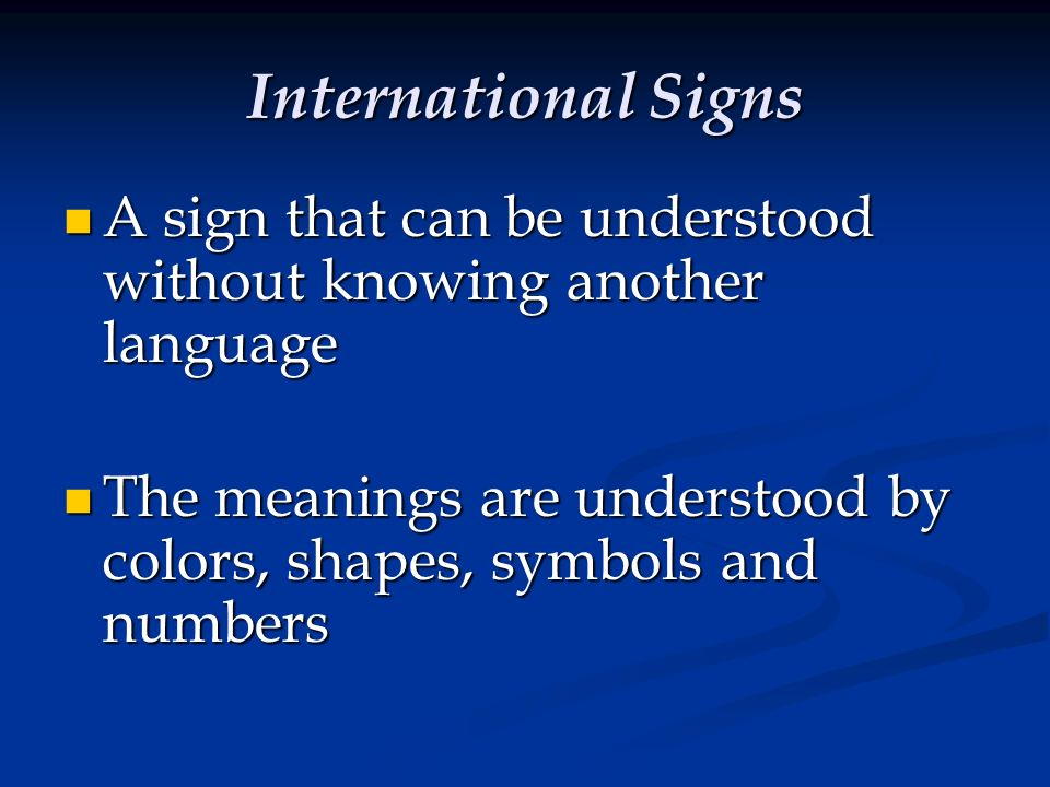 Chapter 5 Signs Signals And Markings Ppt Video Online Download