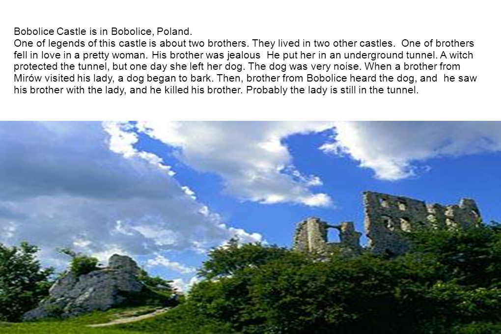 Bobolice Castle is in Bobolice, Poland.