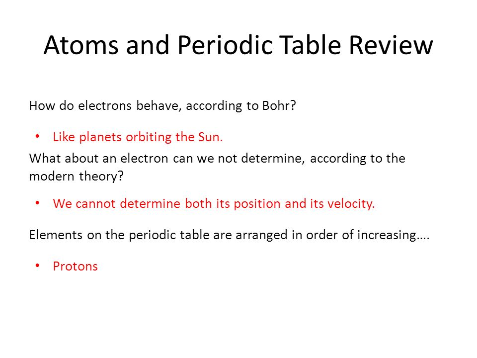 Atoms and periodic table review ppt video online download atoms and periodic table review urtaz Image collections