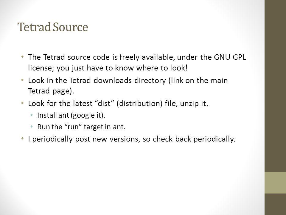 Downloading Tetrad Plus a Quick Introduction to Non-Gaussian Orientation  Joseph Ramsey