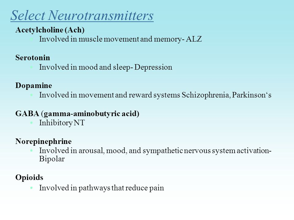Select Neurotransmitters