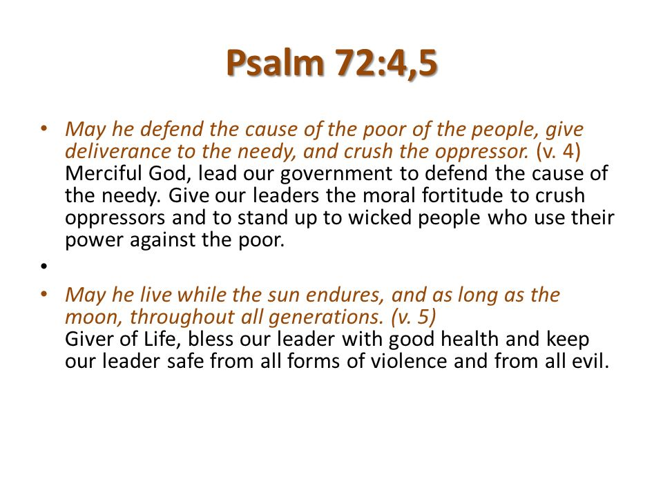 Praying For Governments - ppt download