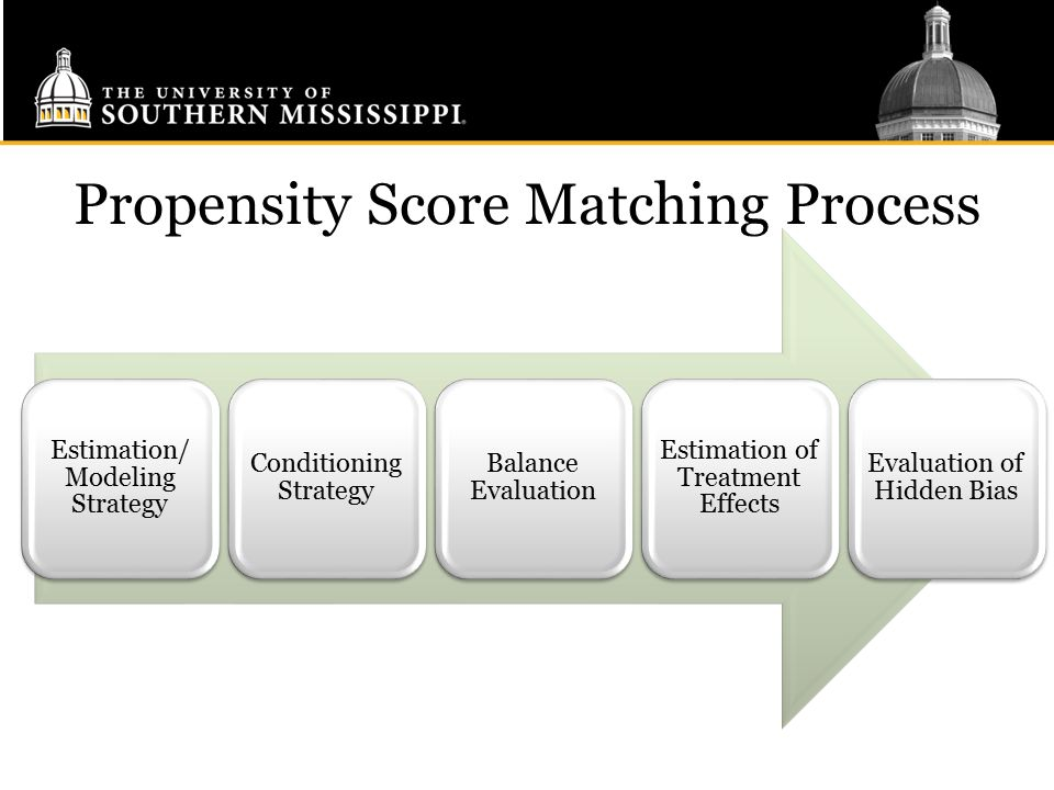 Propensity Score Matching Process