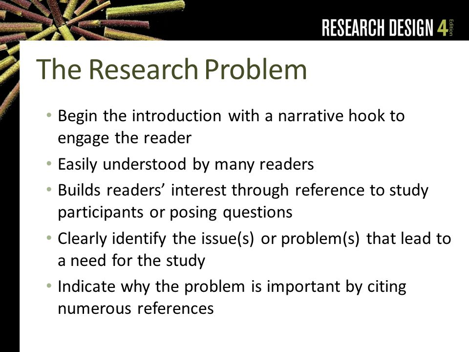 narrative hook examples research
