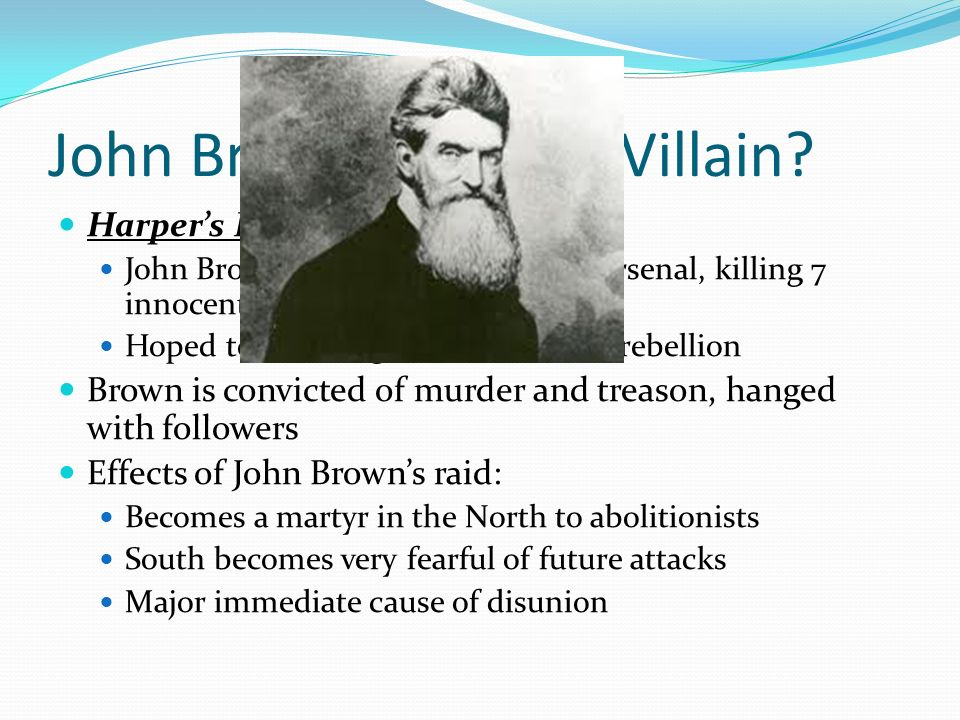 john brown hero or villain
