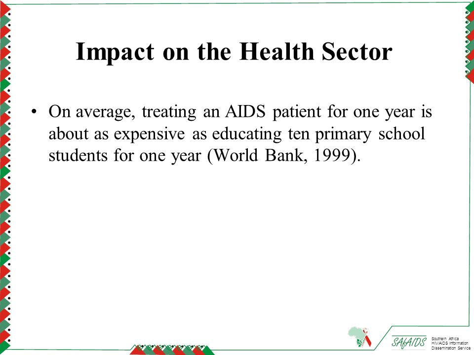 Impact on the Health Sector
