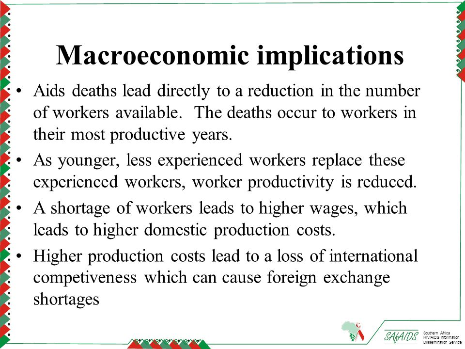 Macroeconomic implications