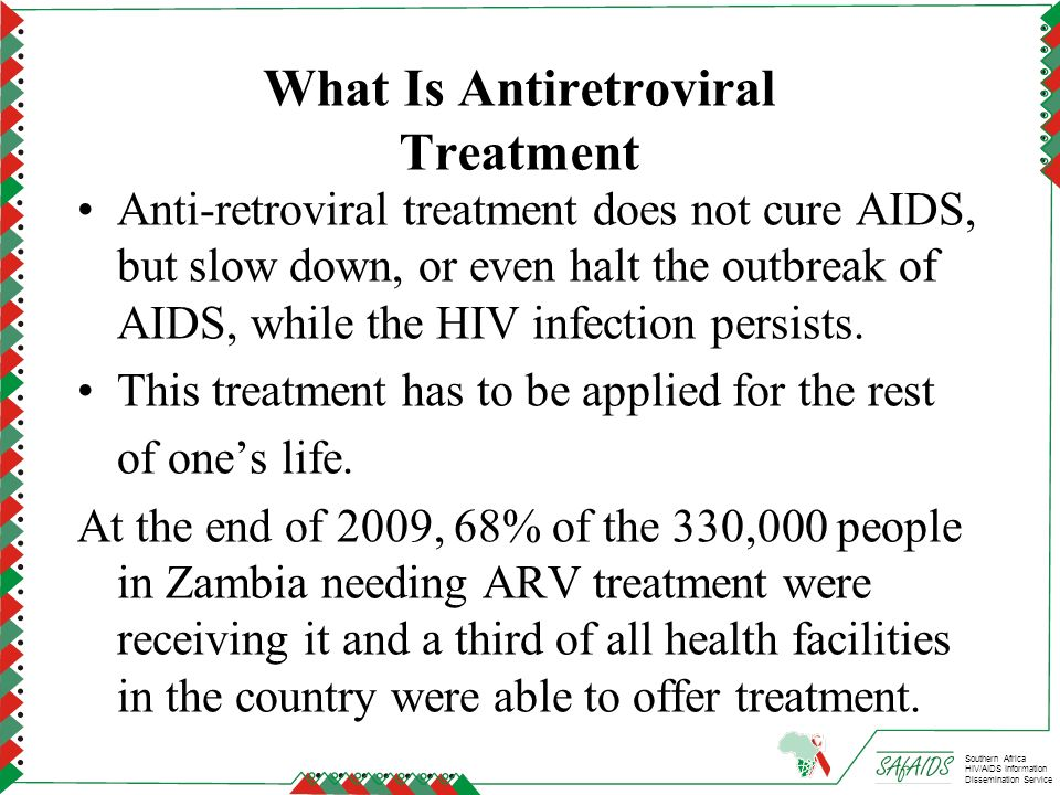 What Is Antiretroviral Treatment