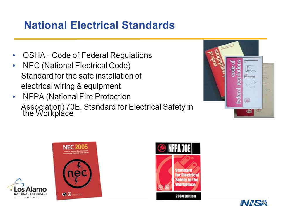 Electrical Codes and Standards for R&D - ppt video online download
