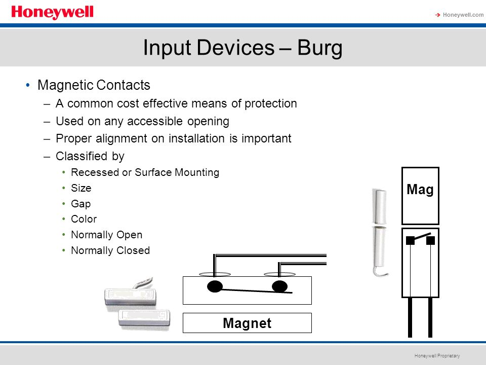 Input Devices – Burg Magnetic Contacts Mag Magnet