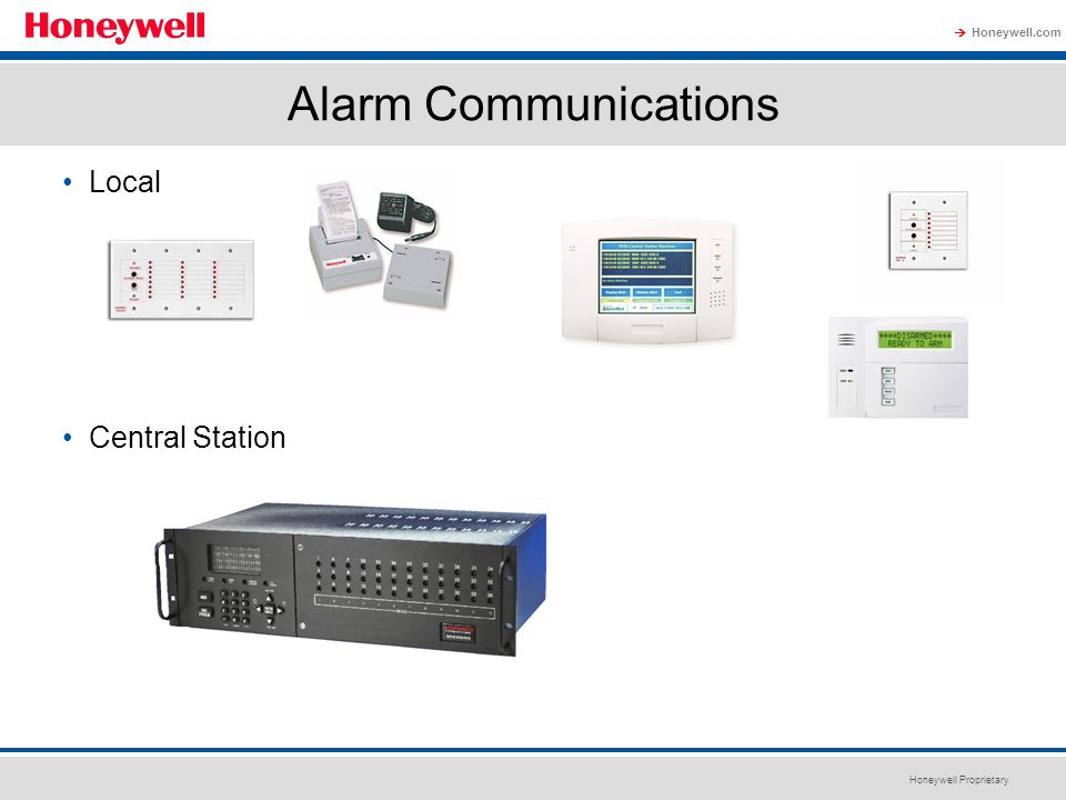 Alarm Communications Local Central Station