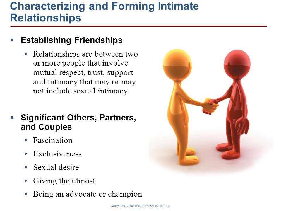 intimacy and relationships