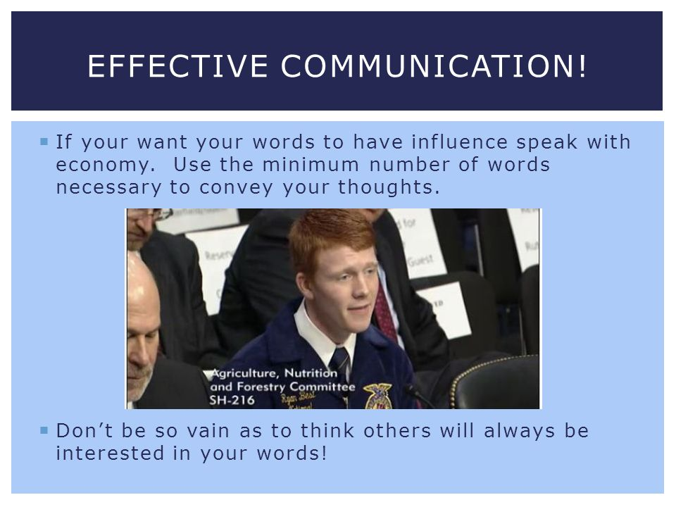 Effective Communication!