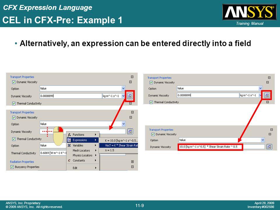 Chapter 11 CFX Expression Language (CEL) - ppt video online