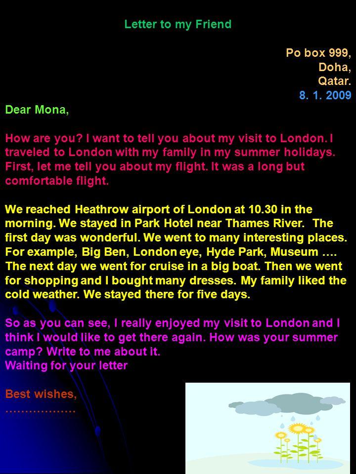 Letter writing informal letter ppt video online download 5 letter spiritdancerdesigns Images