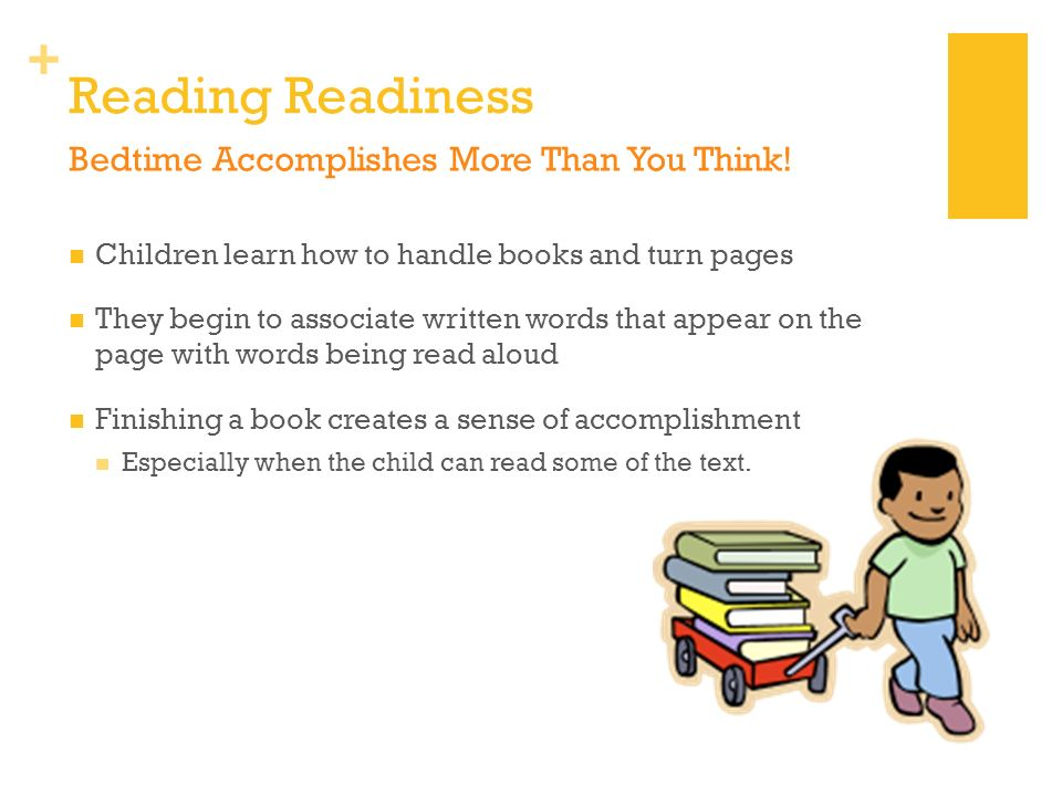 Reading Readiness Bedtime Accomplishes More Than You Think!