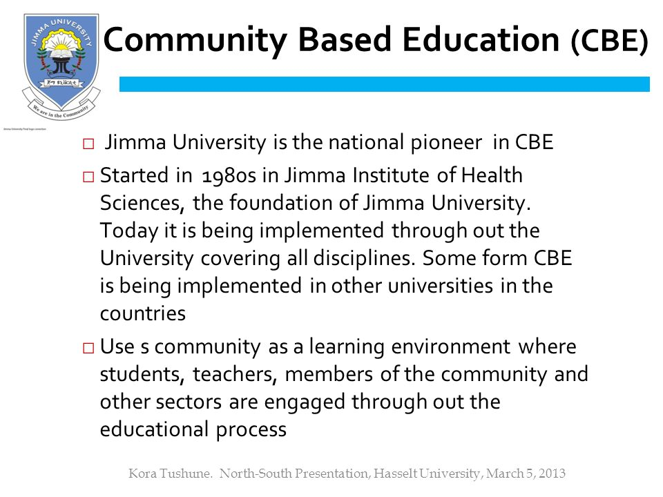 The experience of Jimma University, Ethiopia - ppt download