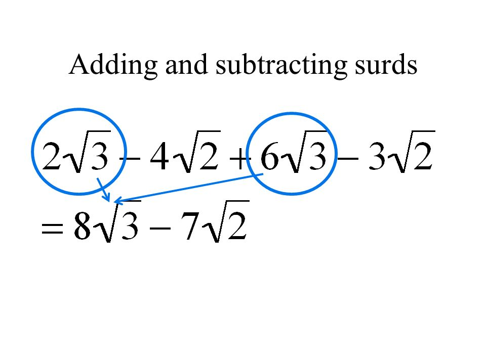 Surds And Quadratics As Ppt Video Online Download