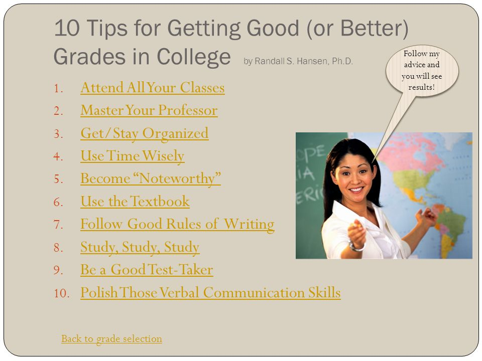 Tips For College Bound Students - ppt download