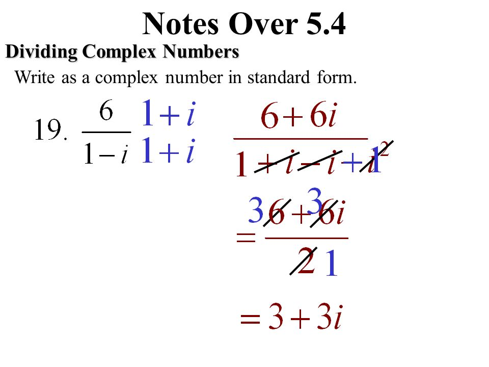 Notes Over 54 Imaginary Numbers Ppt Download