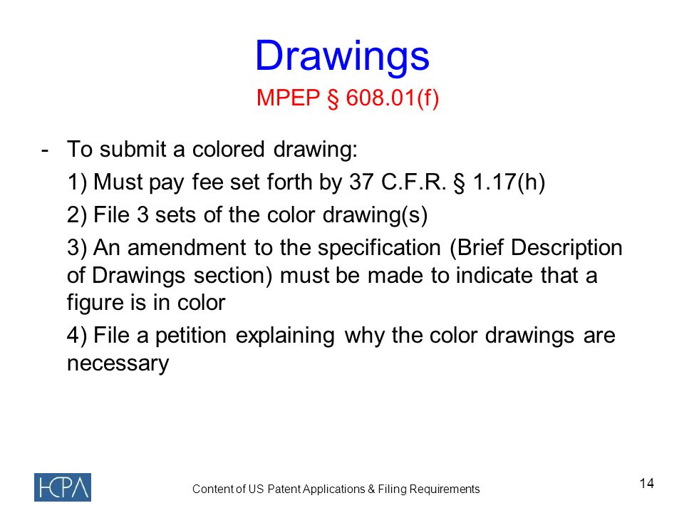 Contents Of Us Patent Applications Filing Requirements Ppt Video
