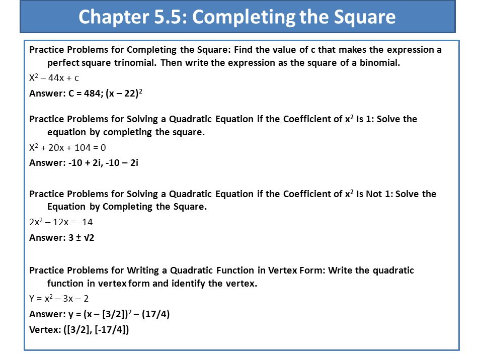 51 A Quadratic Function F Is A Function Of The Form Fx Ax2 Bx
