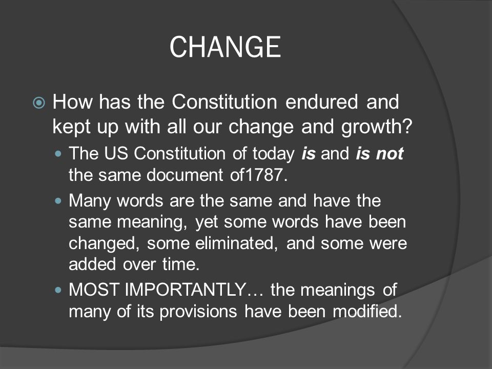 the us constitution is approximately how many words