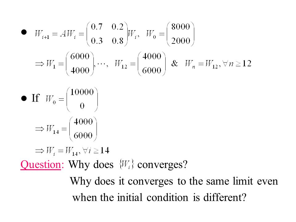 If Question: Why does converges. Why does it converges to the same limit even.