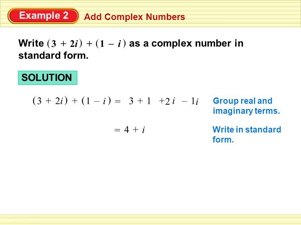 57 Complex Numbers 1217 Ppt Video Online Download