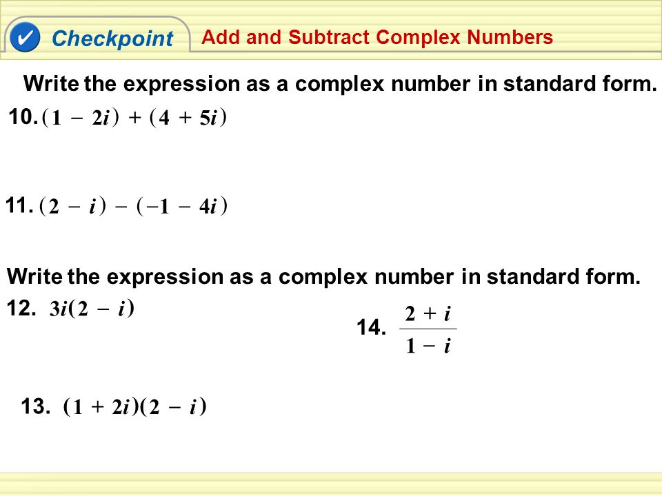 57 Complex Numbers 1217 Ppt Video Online Download