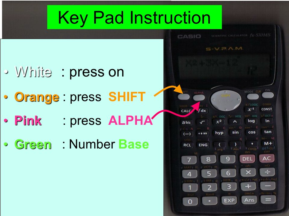 Using Scientific Calculator - ppt video online download