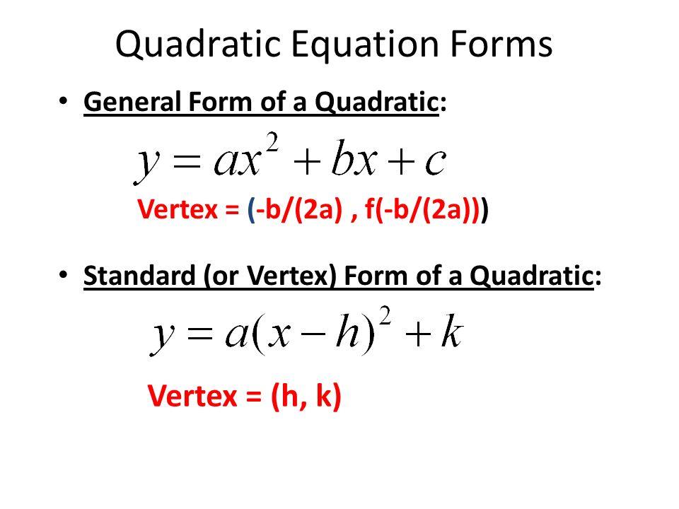 Vertex Form Quadratic Equation Images Free Form Design Examples