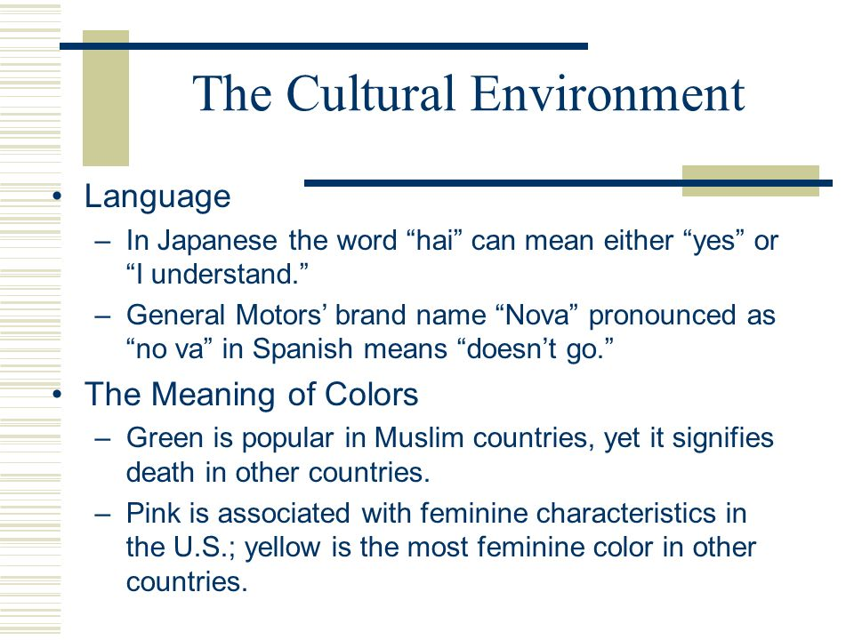 meaning of socio cultural environment