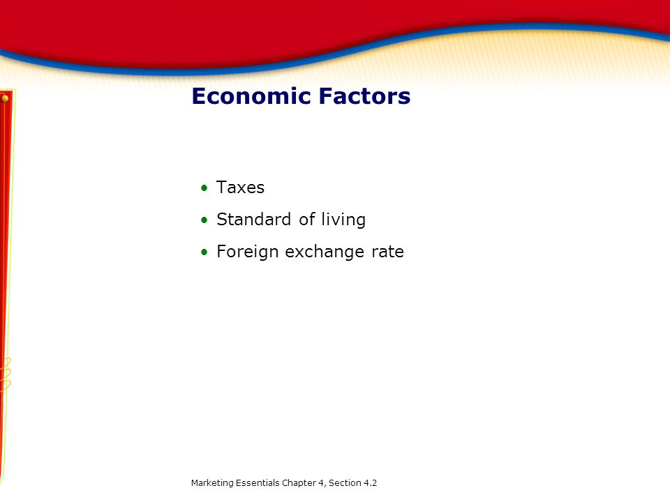 Taxes Standard of living Foreign exchange rate