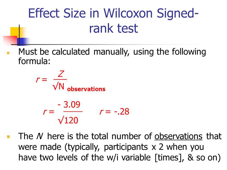 wilcoxon signed rank test spss pdf