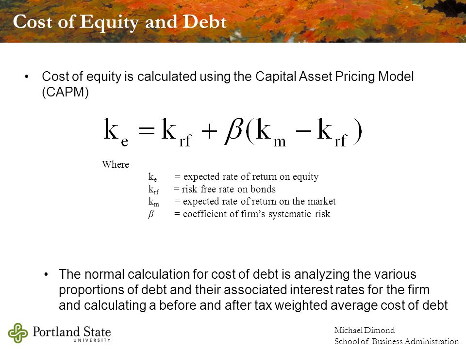equity capital free of cost The cost of equity capital is most difficult to compute some people argue that the equity capital is cost free as the company is not legally bound to pay the dividends to equity shareholders.