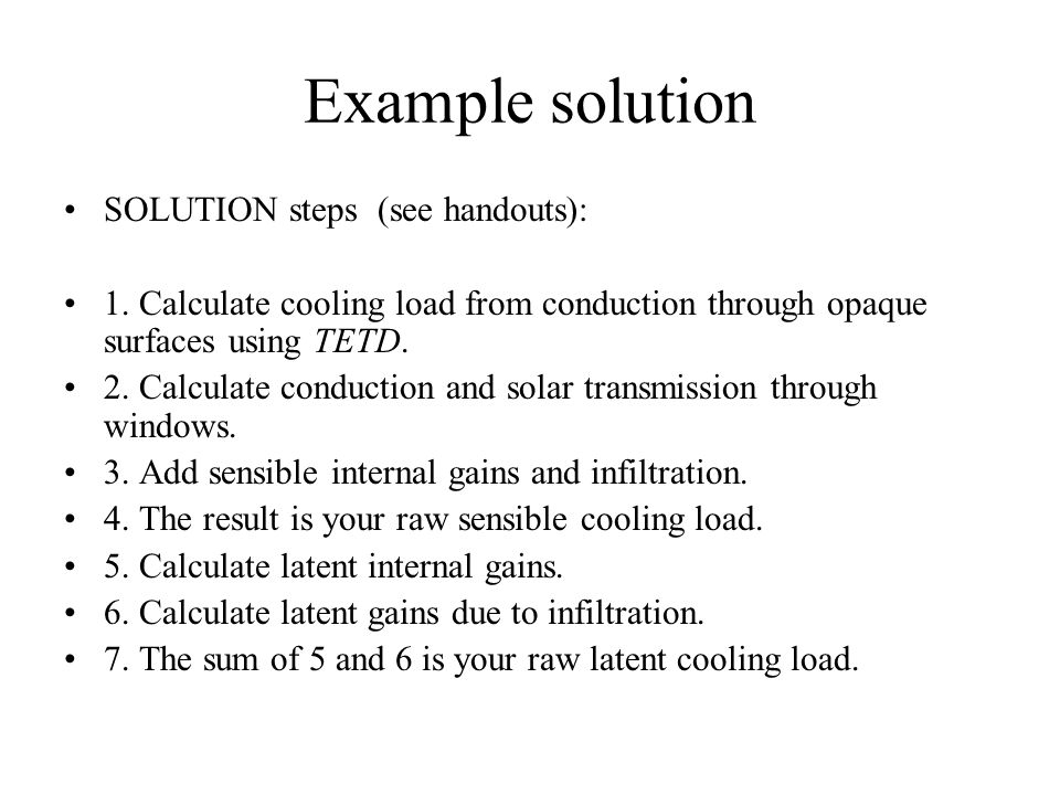Why we need to calculate heating load ? - ppt video online download