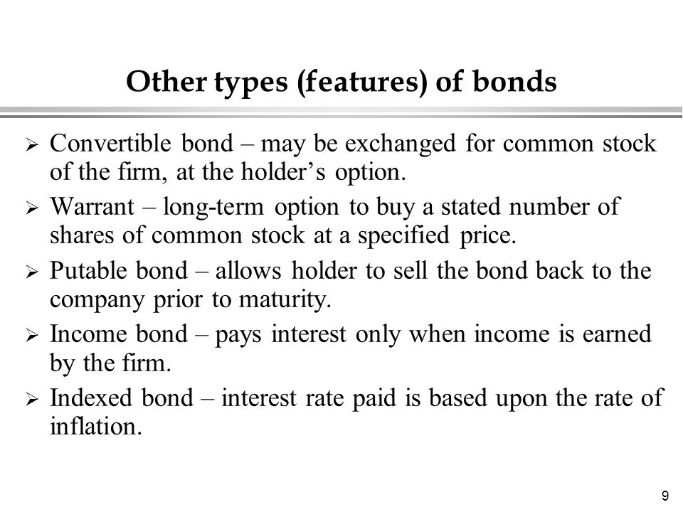 Valuation Of Stocks And Bonds Ppt Download